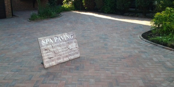 SPA paving - Driveways