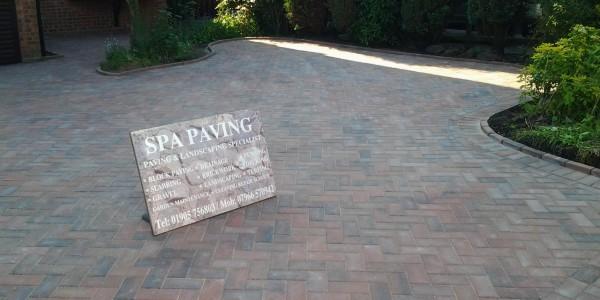 SPA paving - Driveways