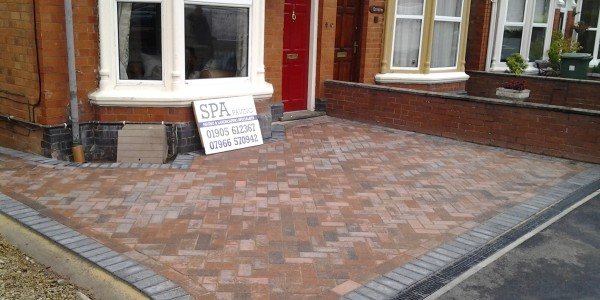 SPA paving - driveways worcester