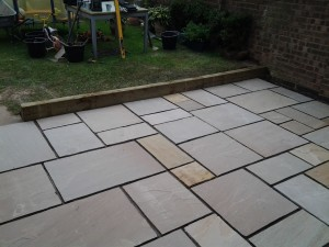 SPA paving patio installation patio worcester