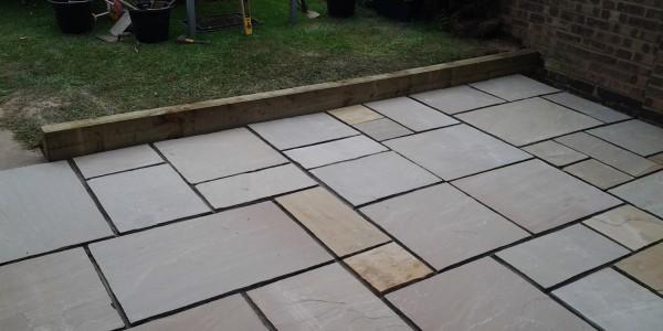 SPA paving patio installation patio worcester