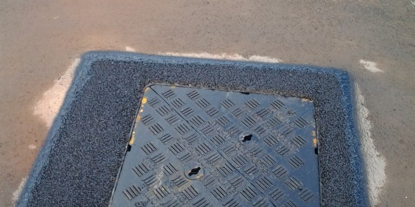 Spapaving - Replacement manhole covers