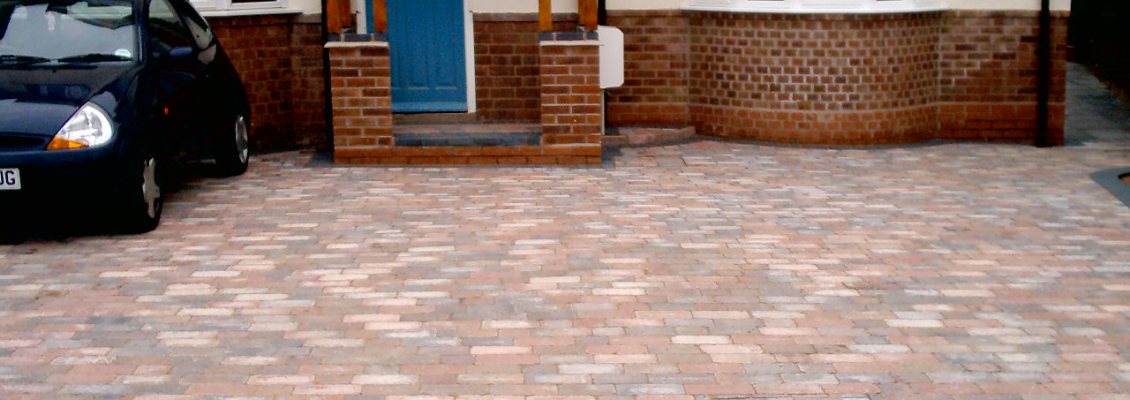 Droitwich spa paving