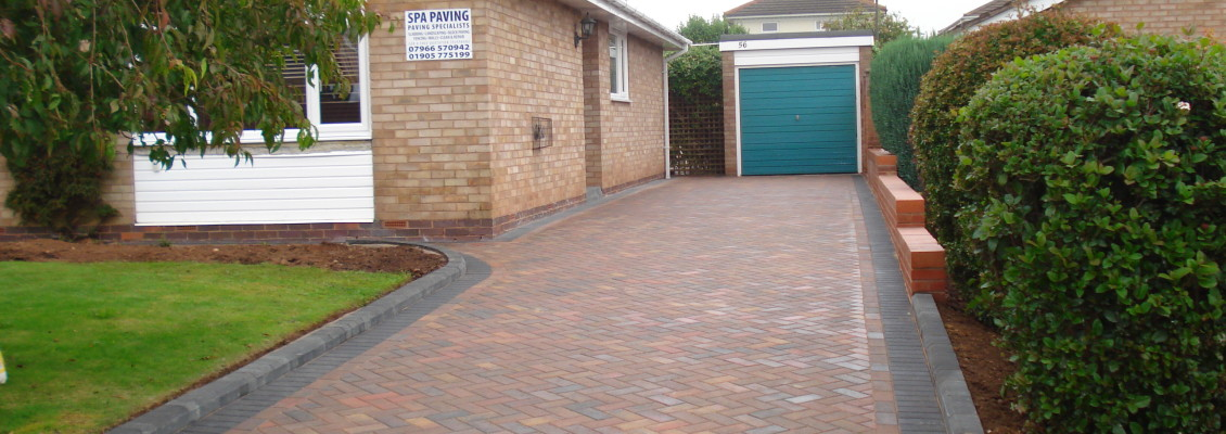 SPA paving driveway paving worcester