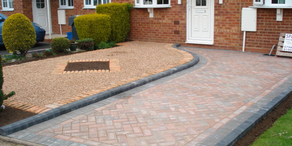 SPA paving driveway paving project
