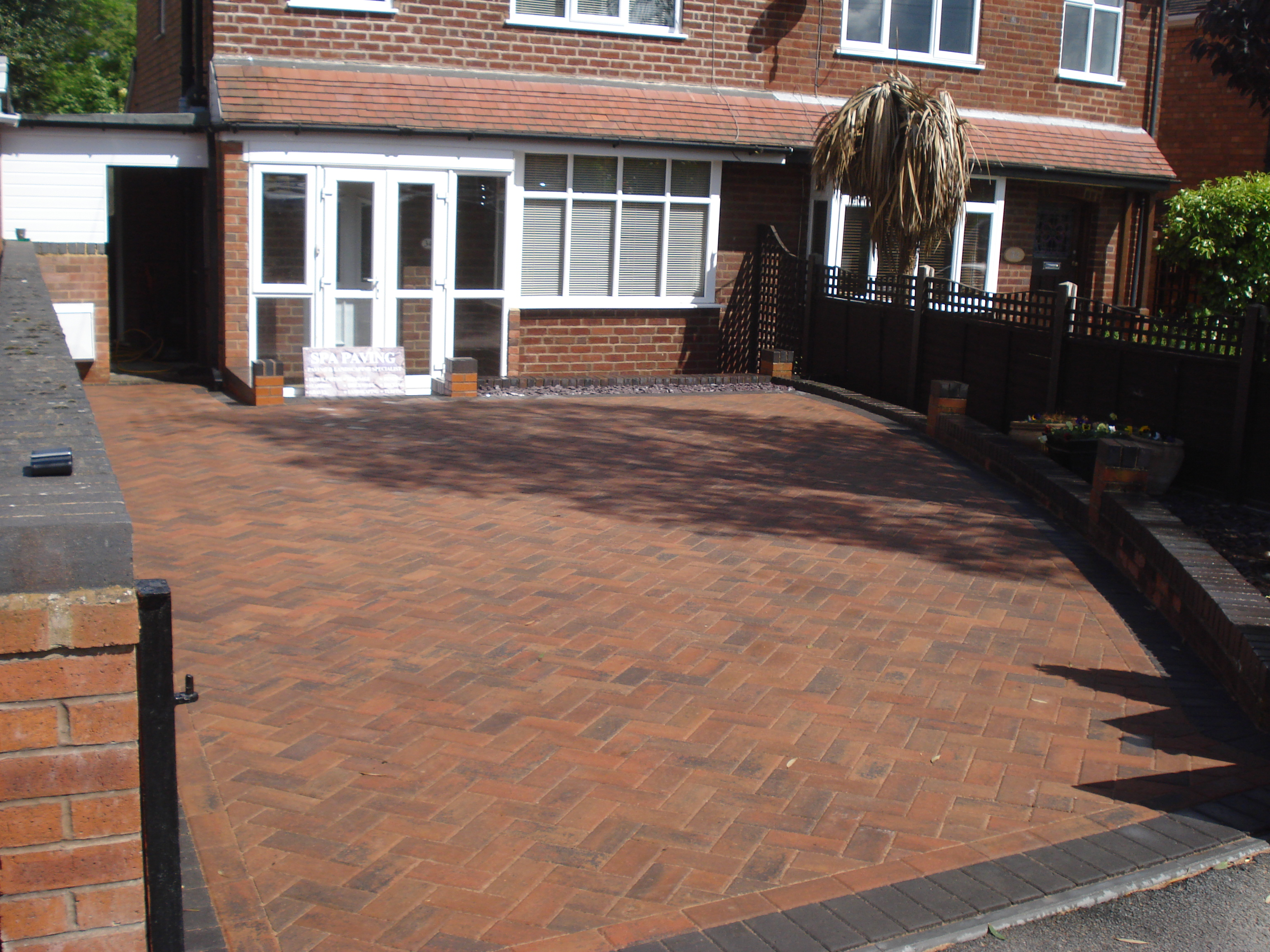 SPA paving - Gravel to paved worcester