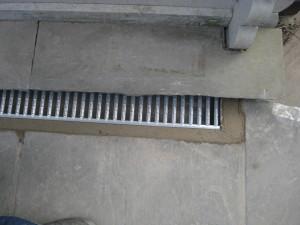Commercial pub aco drainage