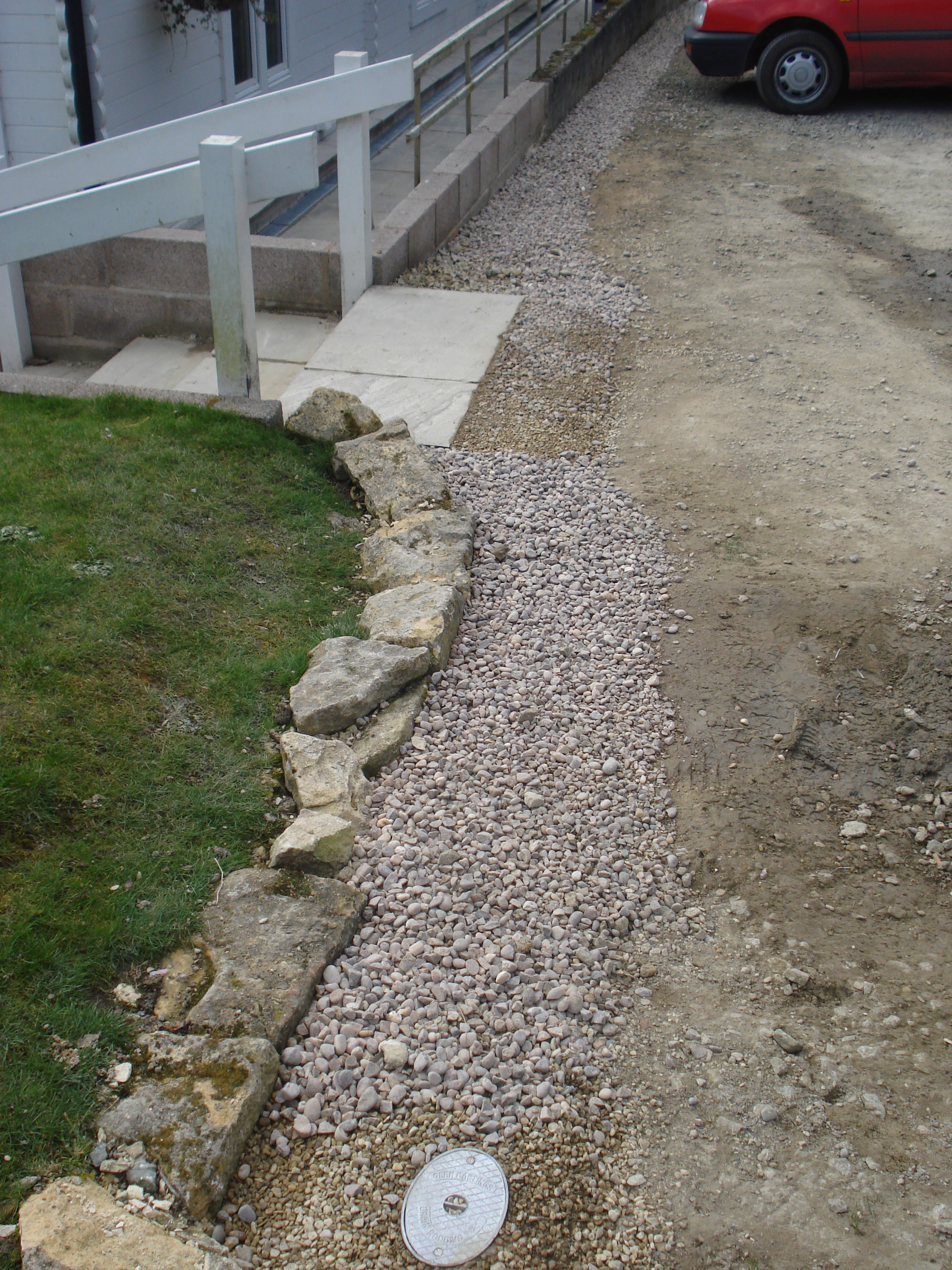 Drainage project commercial french drains for Residential french drain