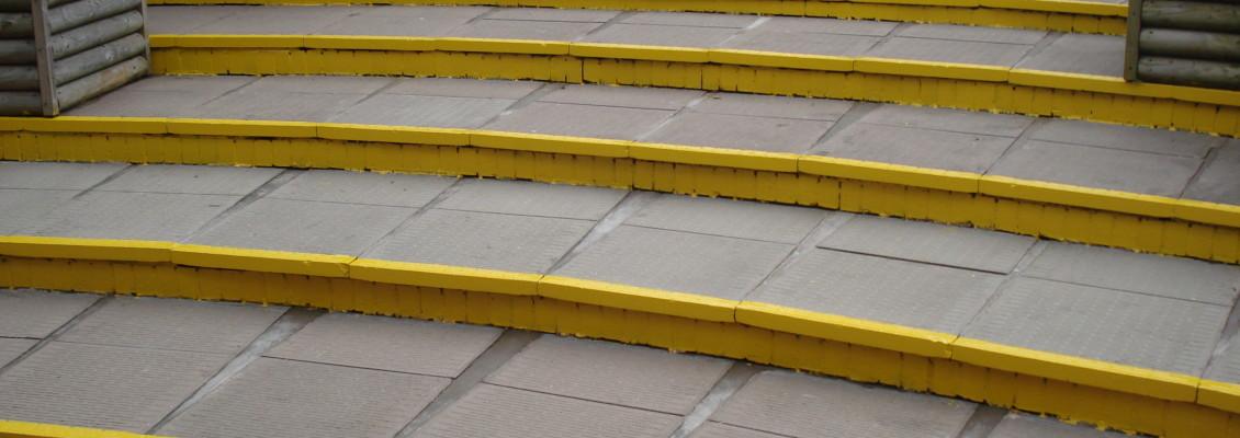 spa paving - school safety steps