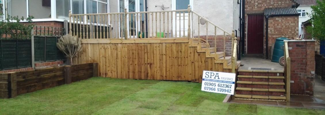 SPApaving landscaping decking worcester